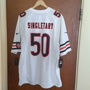 Chicago Bears Mike Singletary Nike jersey men's L